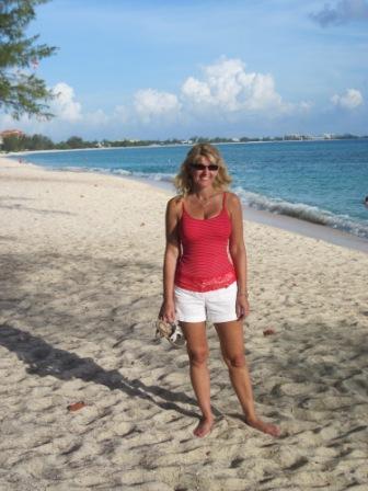 Toni on Cemetery Beach