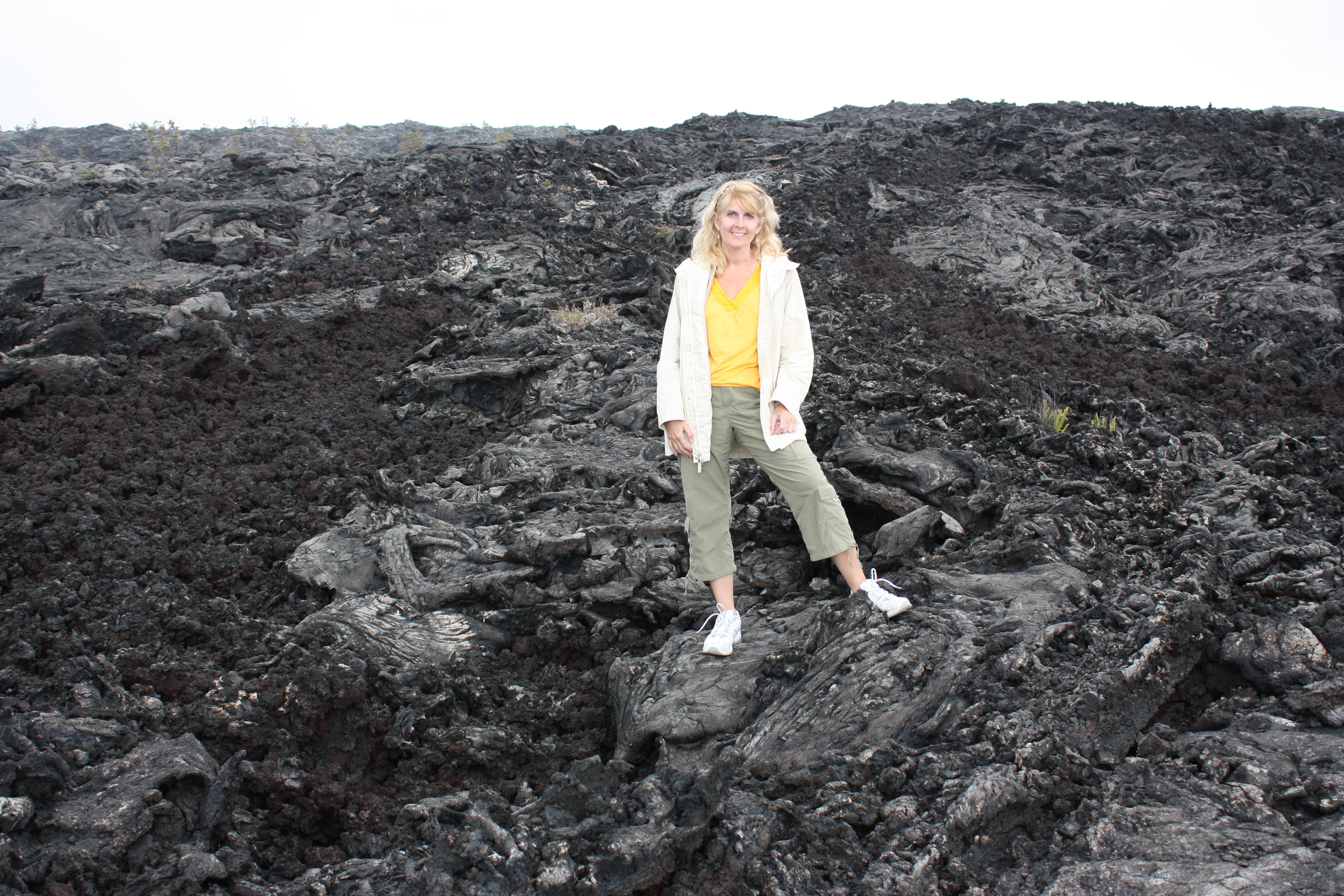 Lava anyone? If you need any, you can find plenty on Chain of Craters Road in the Volcanoes National Park.