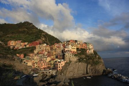 This is Manarola, the quaint seaside town where we stayed while in the Cinque Terre area. The Cinque Terre is comprised of five little towns along the Mediterranean linked by trails along the shore where the hillsides are covered with vineyards and lemon trees. We really loved our time in this area.