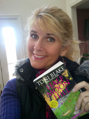 """""""Like"""" Toni on Facebook for a chance to win an Advance Reader Copy of Half Moon Hill"""