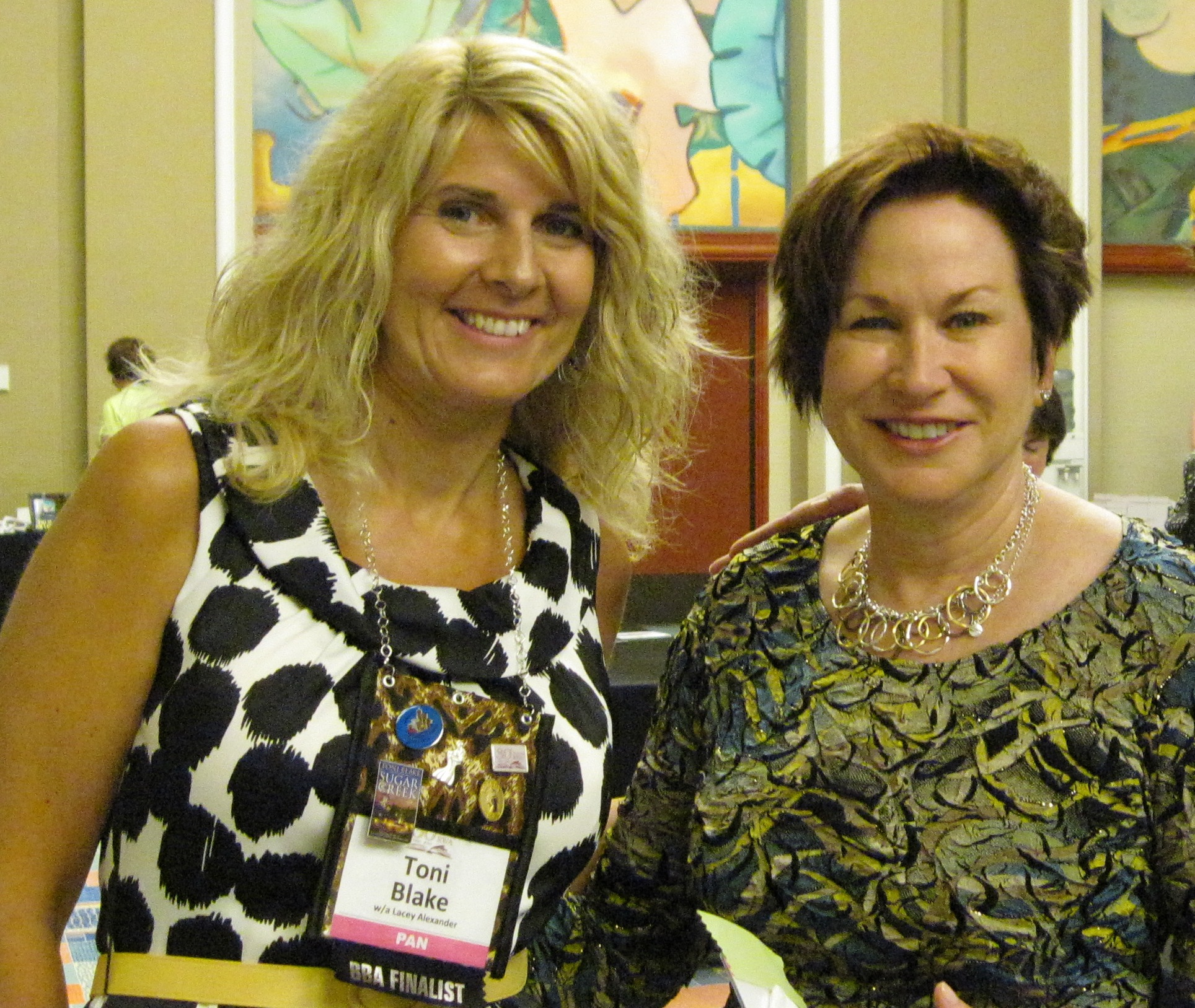 With author friend Christina Dodd.