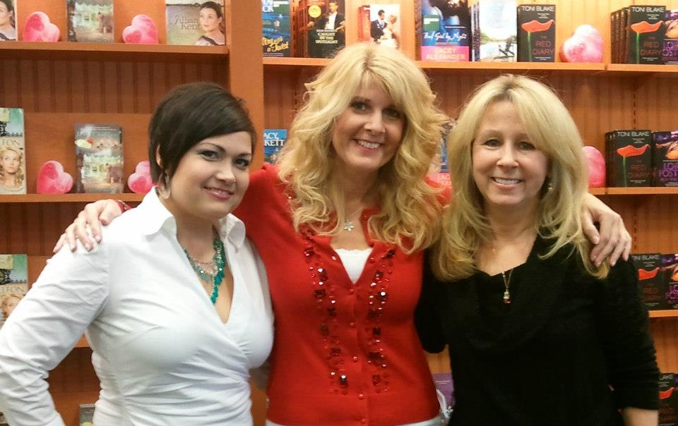 With my frequent signing buddies Jules Bennett and Lori Foster