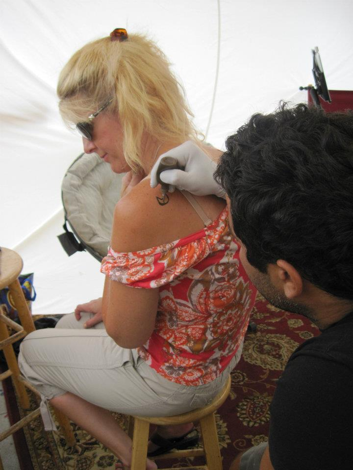 When on Venice Beach, get a henna tattoo.