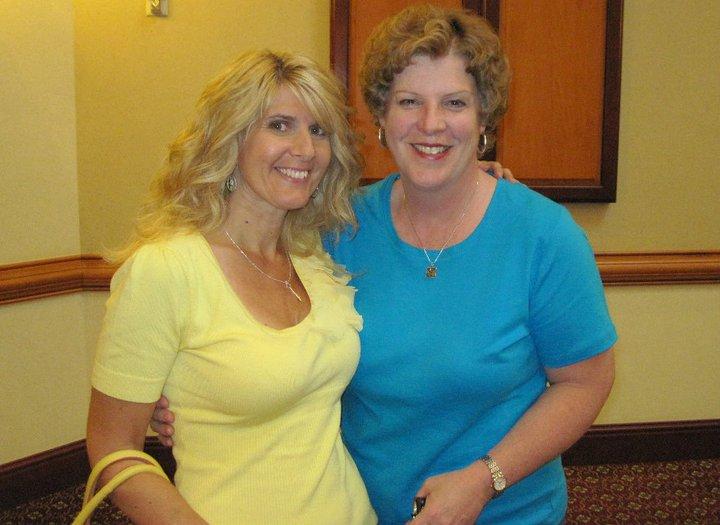 With author friend Janice Maynard