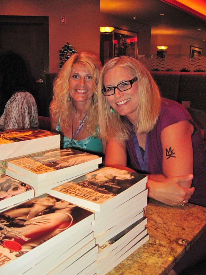 Toni with Lori Armstrong/Lorelei James