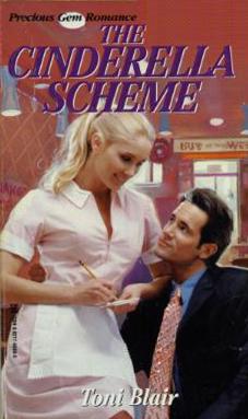 The original 1998 cover of  The Cinderella Scheme