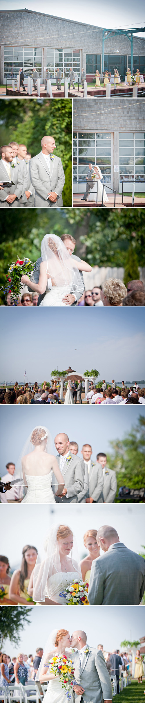 Ohio Lake Erie Wedding