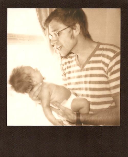 Ben Ruth Polaroid