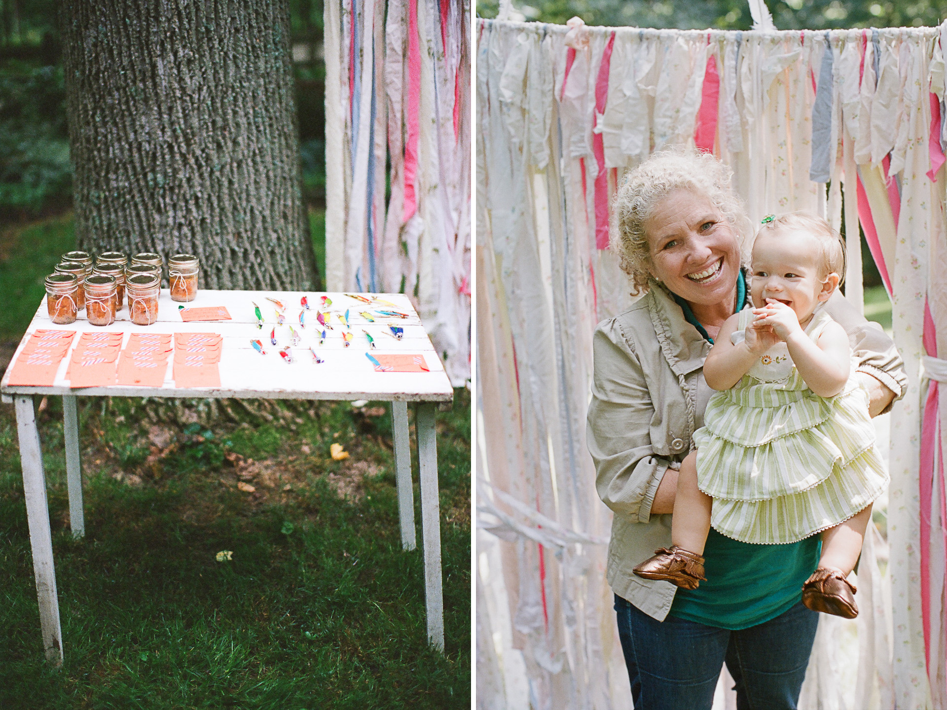 Little Girl's First Birthday Party // Teepee Party
