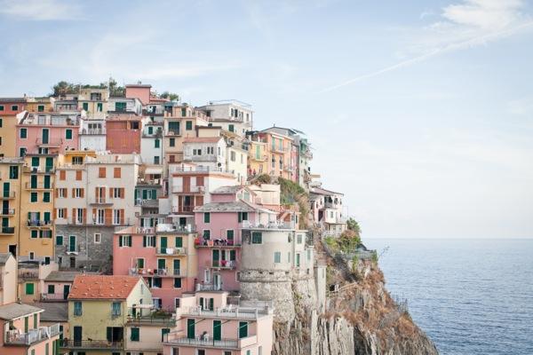 Manarola , Cinque Terre Italy