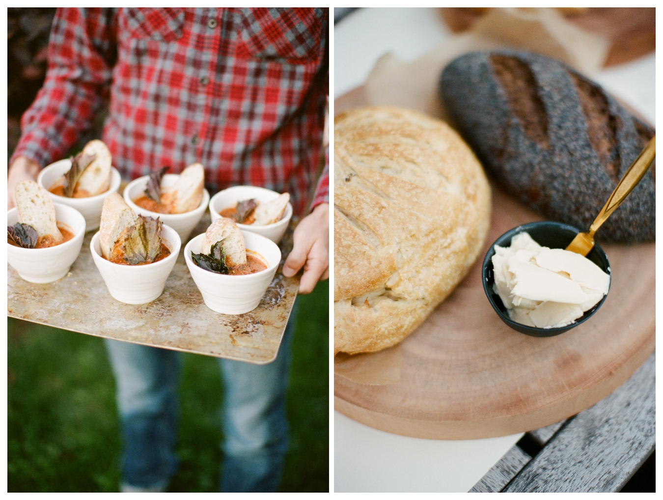 Tomato Soup + Grilled, Grilled Cheese by Ginger+Birch | images by Lily Glass