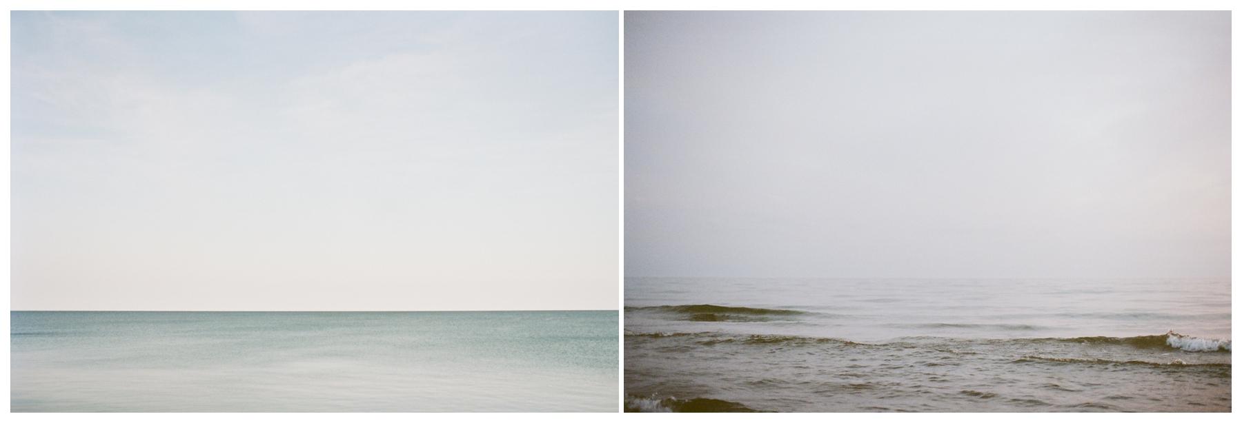lake michigan, two days apart | lily glass