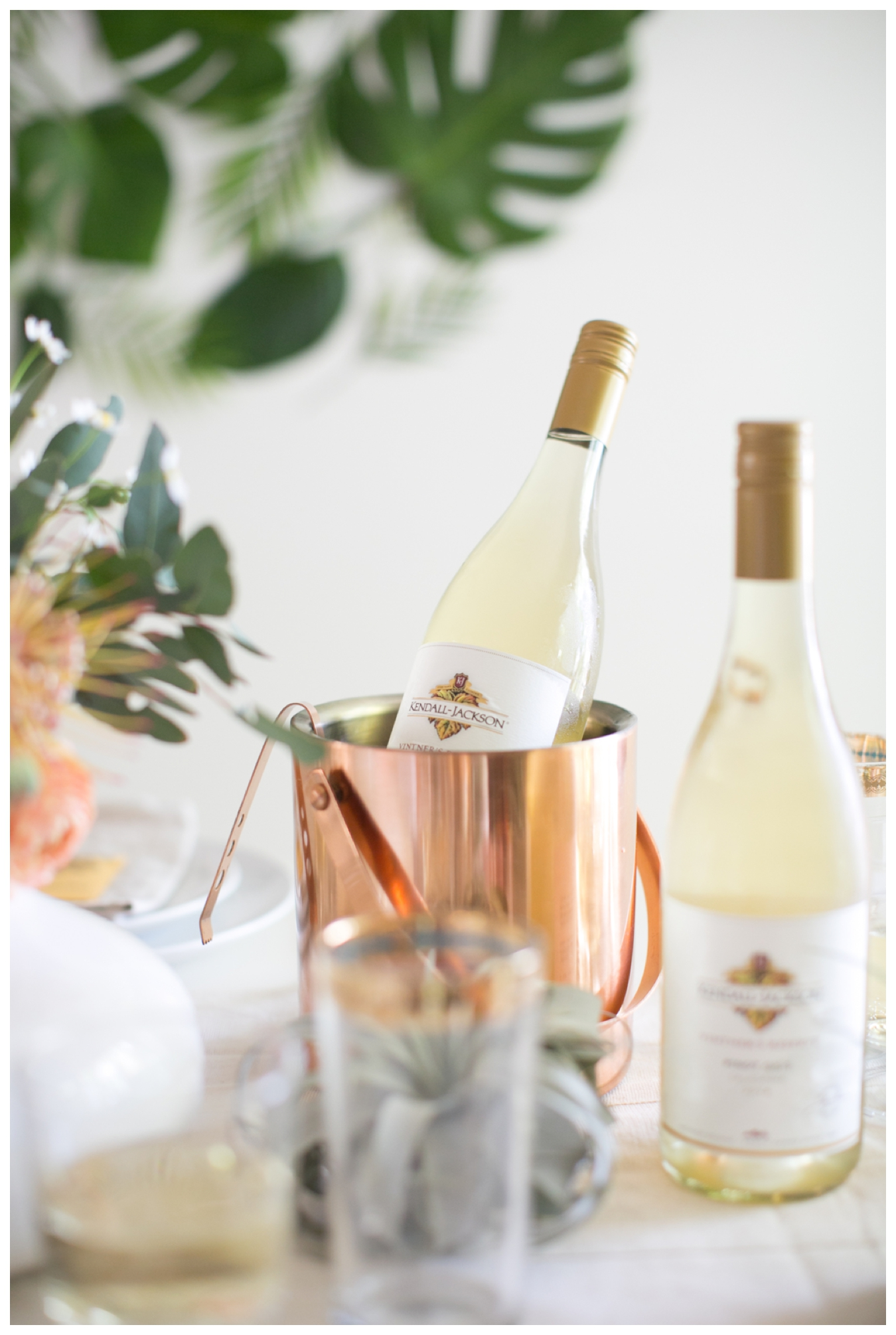 lily glass for almost makes perfect | spring winesicles