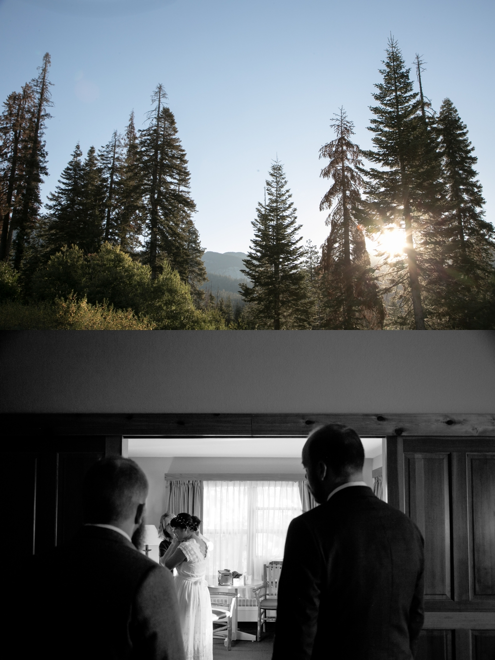 intimate brunch wedding sequoia national park elopement photography