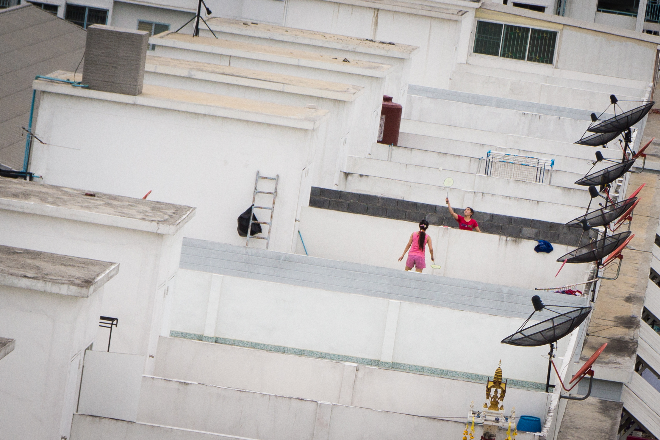 Rooftop fun :)