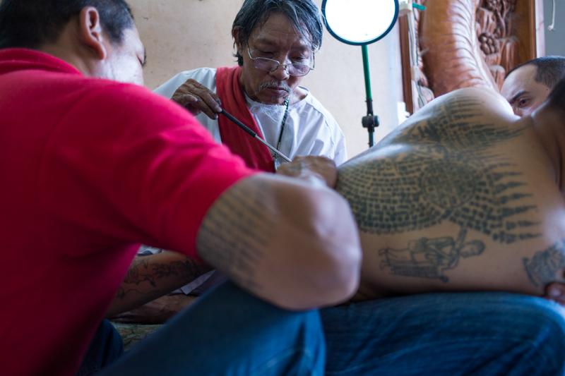 Tattoo master.