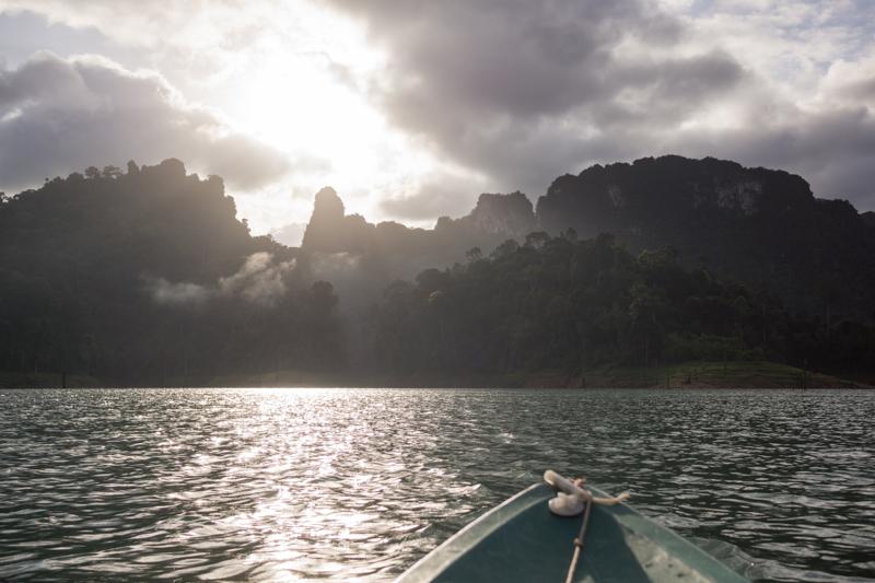 Early-morning kayaking