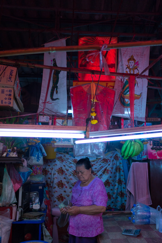 Khlong Toey fresh market, Bangkok, 2013.