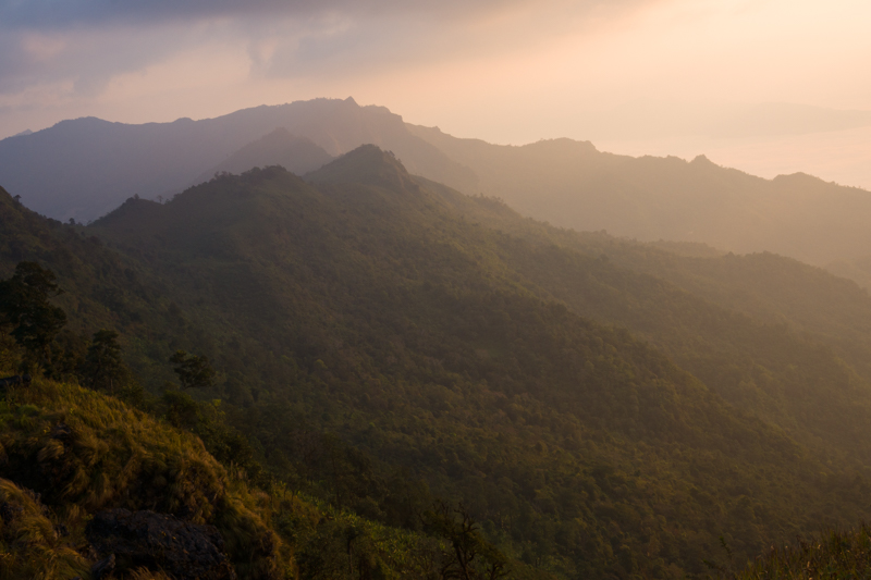 A view from Phu Chi Fa