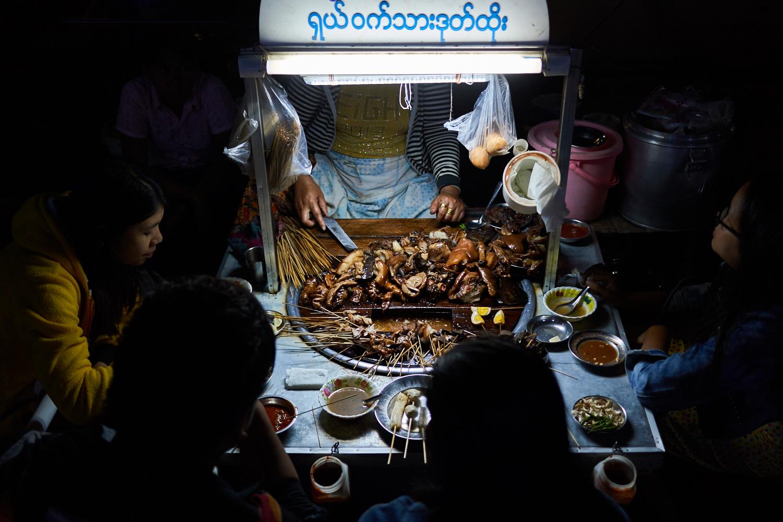 Mandalay street food