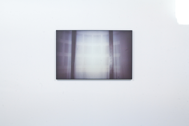 Zachary Susskind  The Clouds  2011  Ink on plexiglass  30 x 46.5 x 2.25 inches