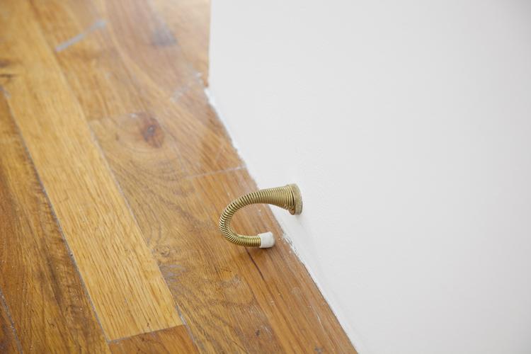 Door Floor  2012  Door stop  4 x 2 x 1 inches