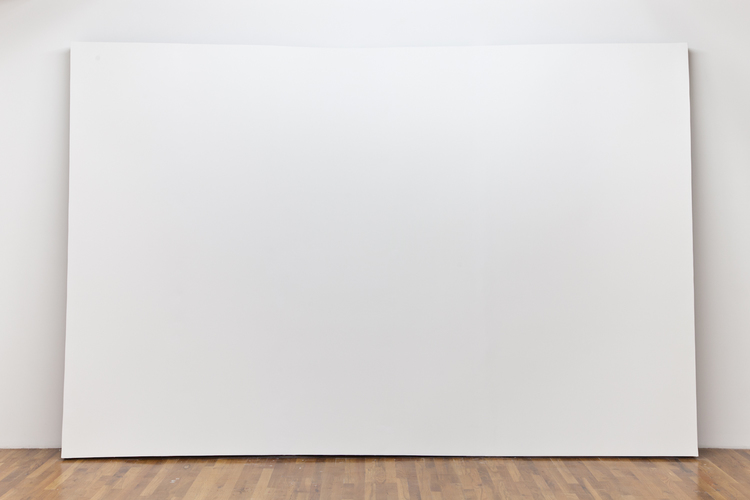 Claim to Force  2012  Wood, masonite, paint  144 x 108 x 8 inches