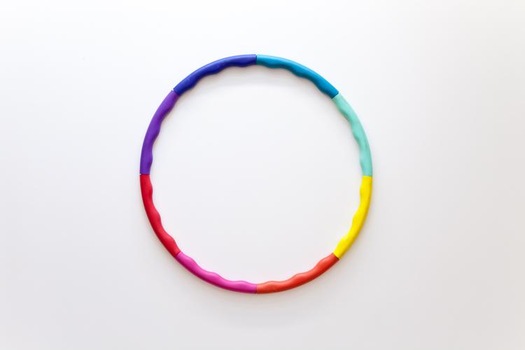Pleasure Piece #1  2012  Hula hoop  20 inches in diameter