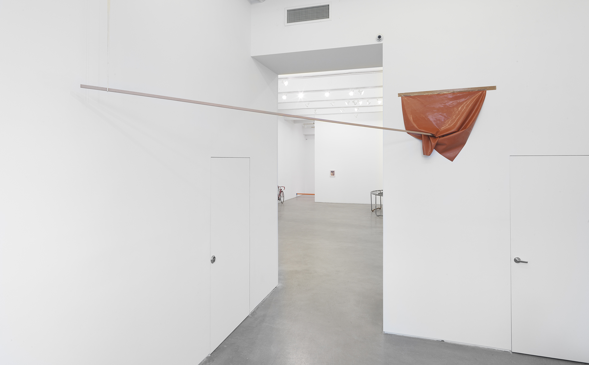 Zachary Susskind Lie & Cigar 2013 Tape, silicone, plastic, latex, ink, wood Dimensions variable