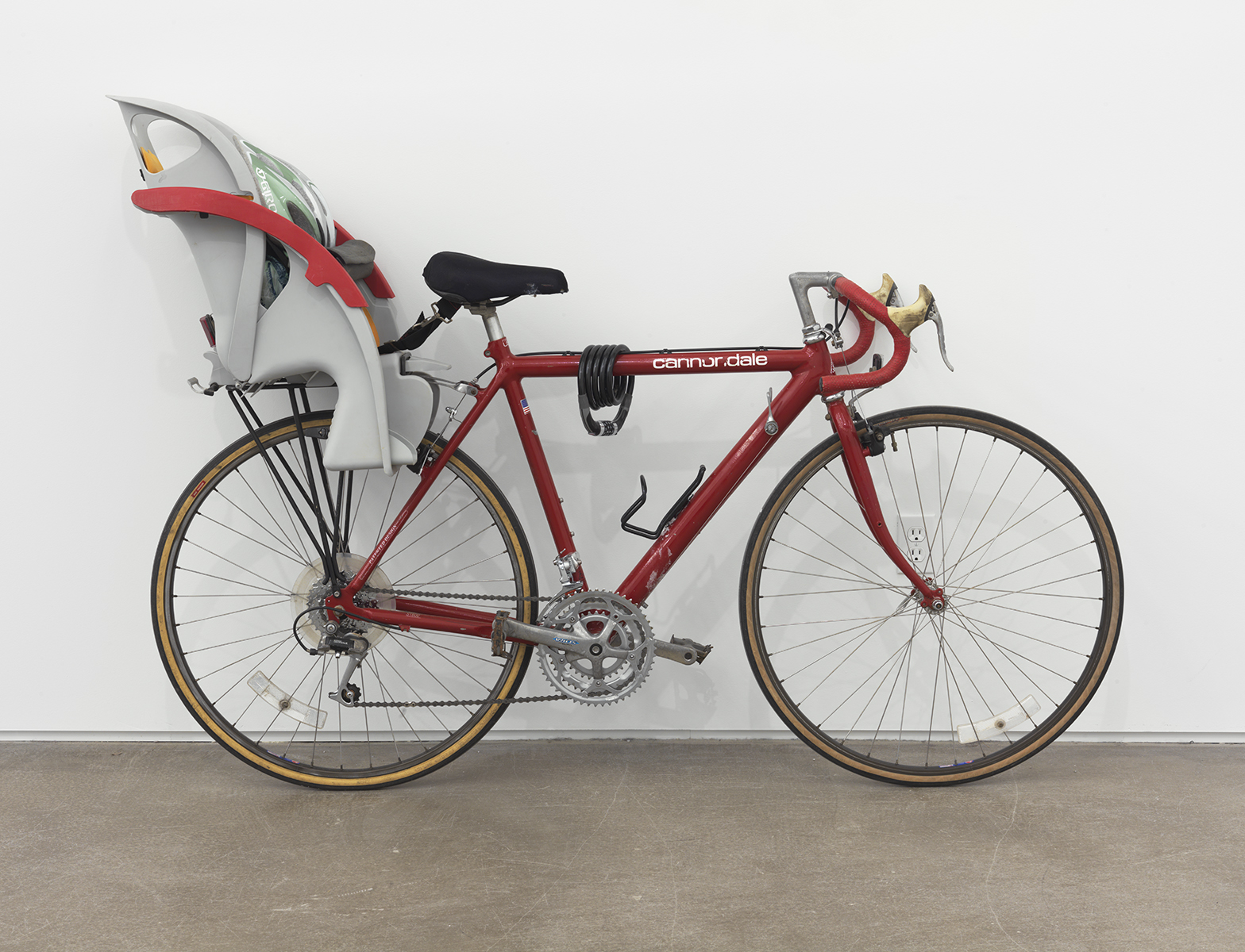 Darren Bader Gallerist's 2013 Gallerist's bicycle ridden to gallery daily Dimensions variable