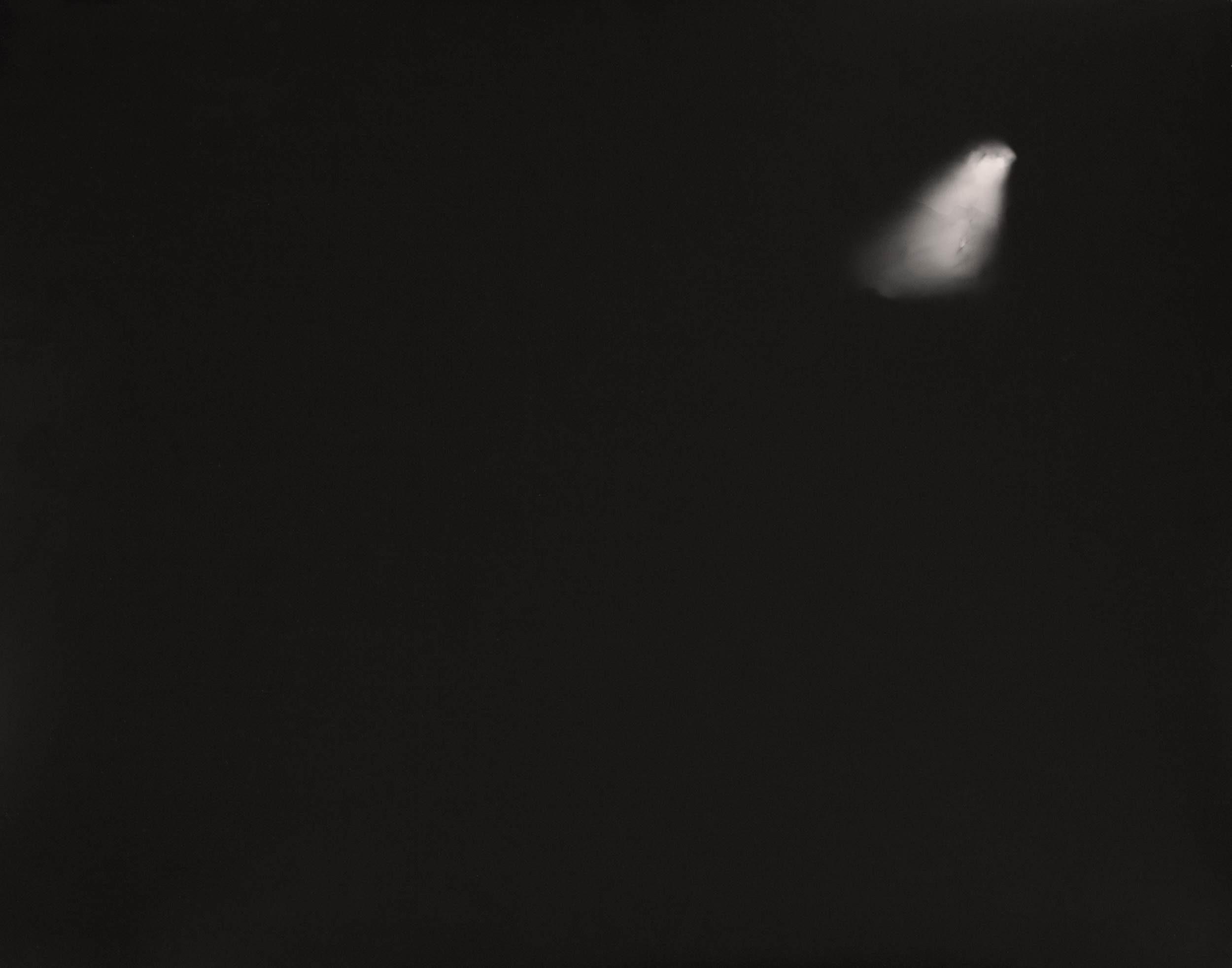 Lunar Photogram, Morgan Hill, CA: March 10, 2015