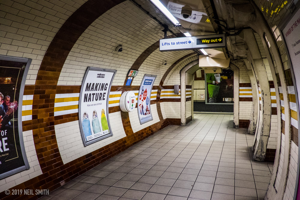 Regents Park has always been one of my favourite underground stations in London.