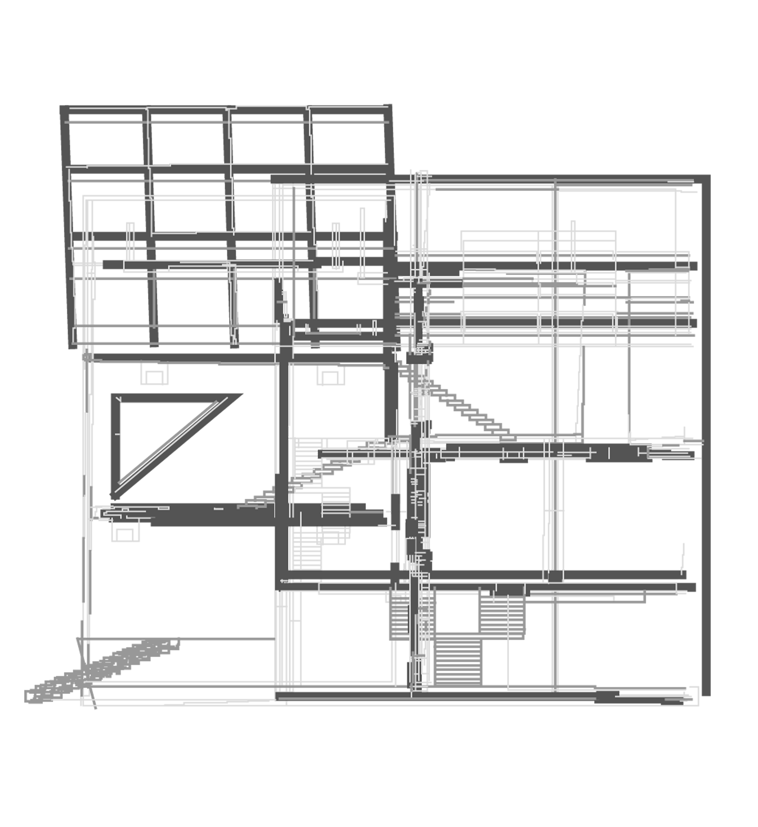Section drawing