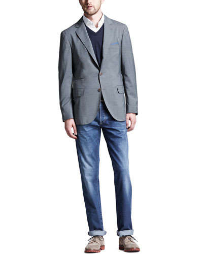 """Great for tech presenters and entrepreneurs who want to convey professionalism with a blazer without being too """"dressed up."""""""