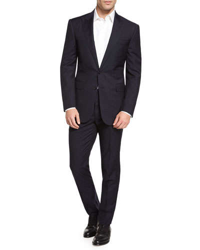 Afterparty: Your clean black suit looks great without the tie for a classy afterparty.