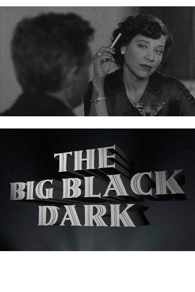 The Big Black Dark - Cinematography by Scott BallardWritten, Directed, Produced by Brian PadianA man wakes bloody and muddy in the woods, amnesiac, and navigates his way into a small town, intersecting with a variety of shady people along the way.Short Film - S16mm - 2011 - 21 Minutes