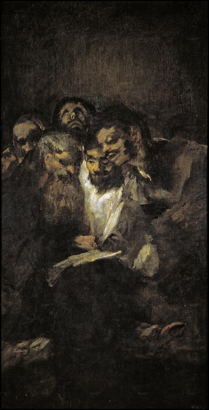 Francisco de Goya, The Reading La lectura, o Los políticos.jpg