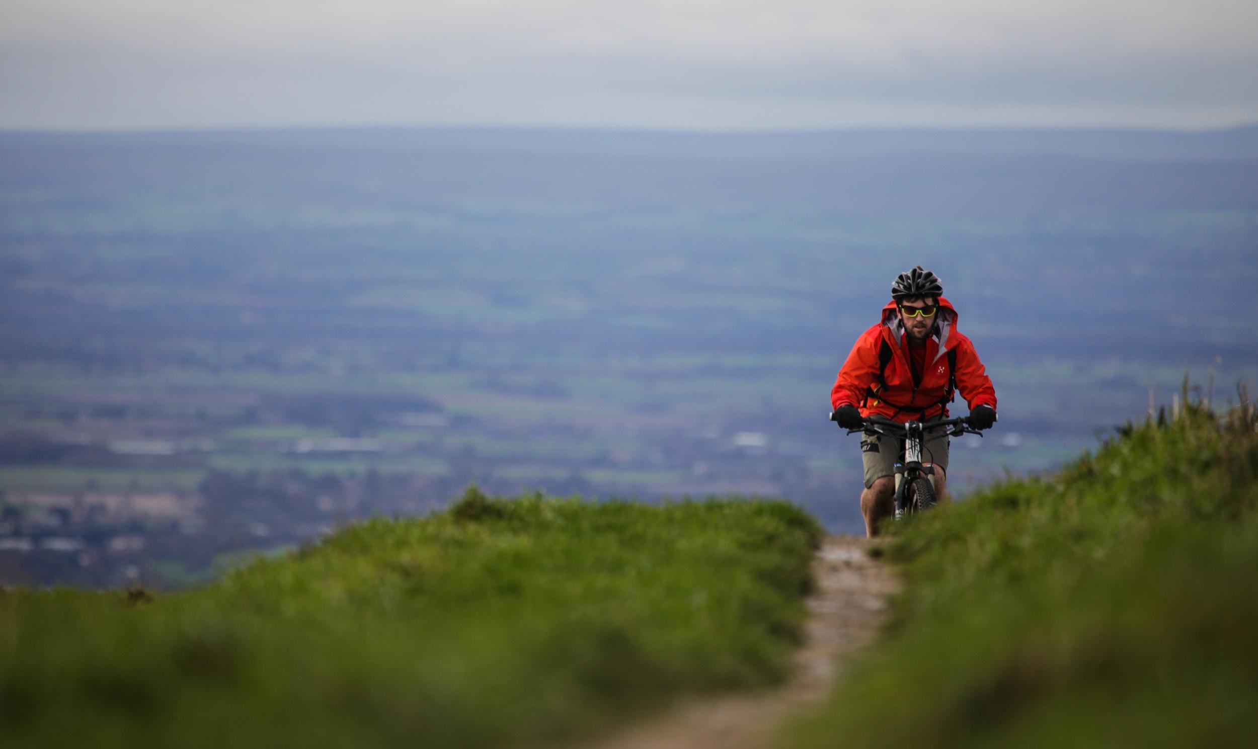 Great British MINI Adventure Day 3 - North Yorks Moors MTN Biking Sutton Bank