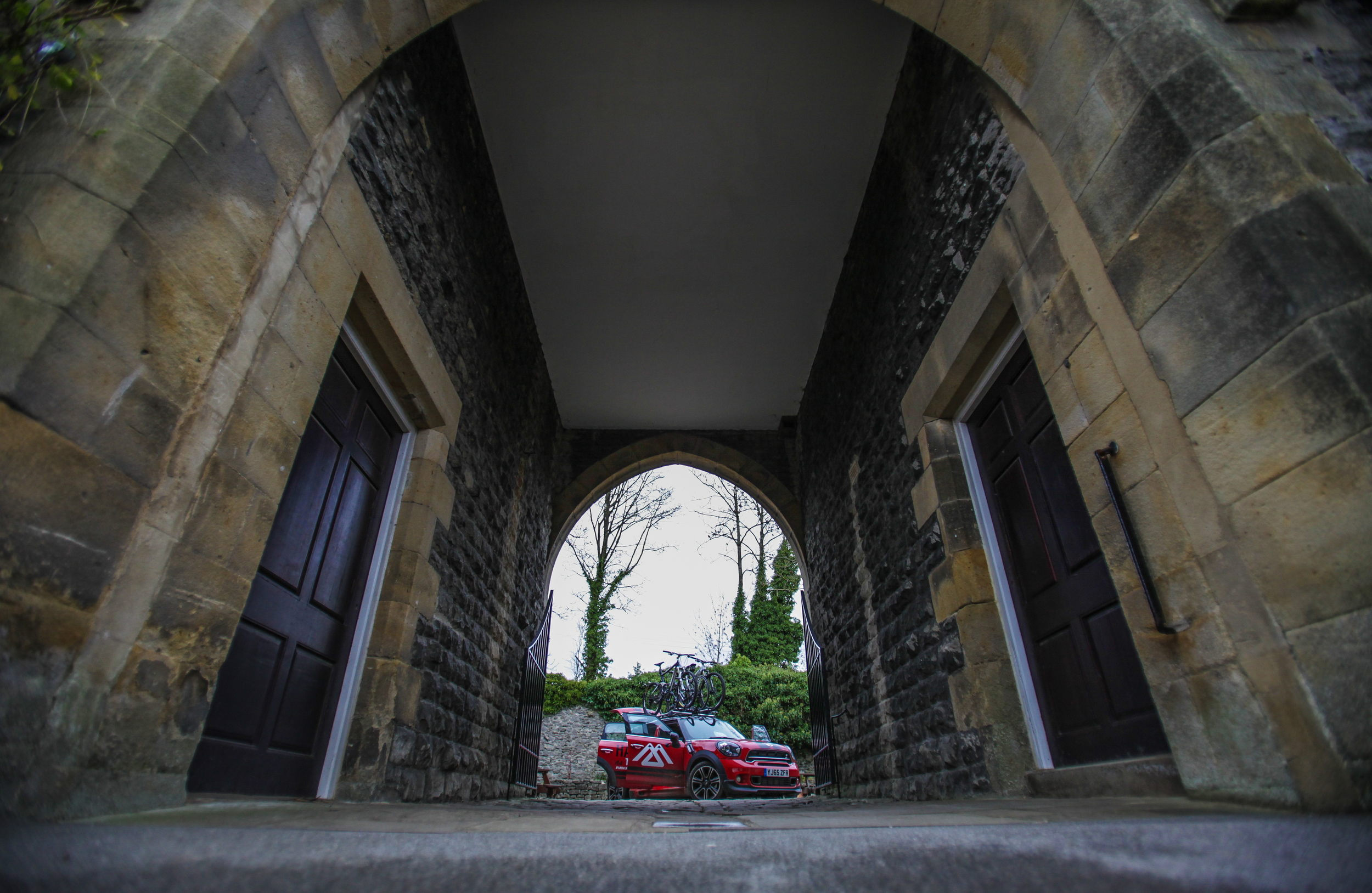 Great British MINI Adventure Day 2 - Castleton YHA