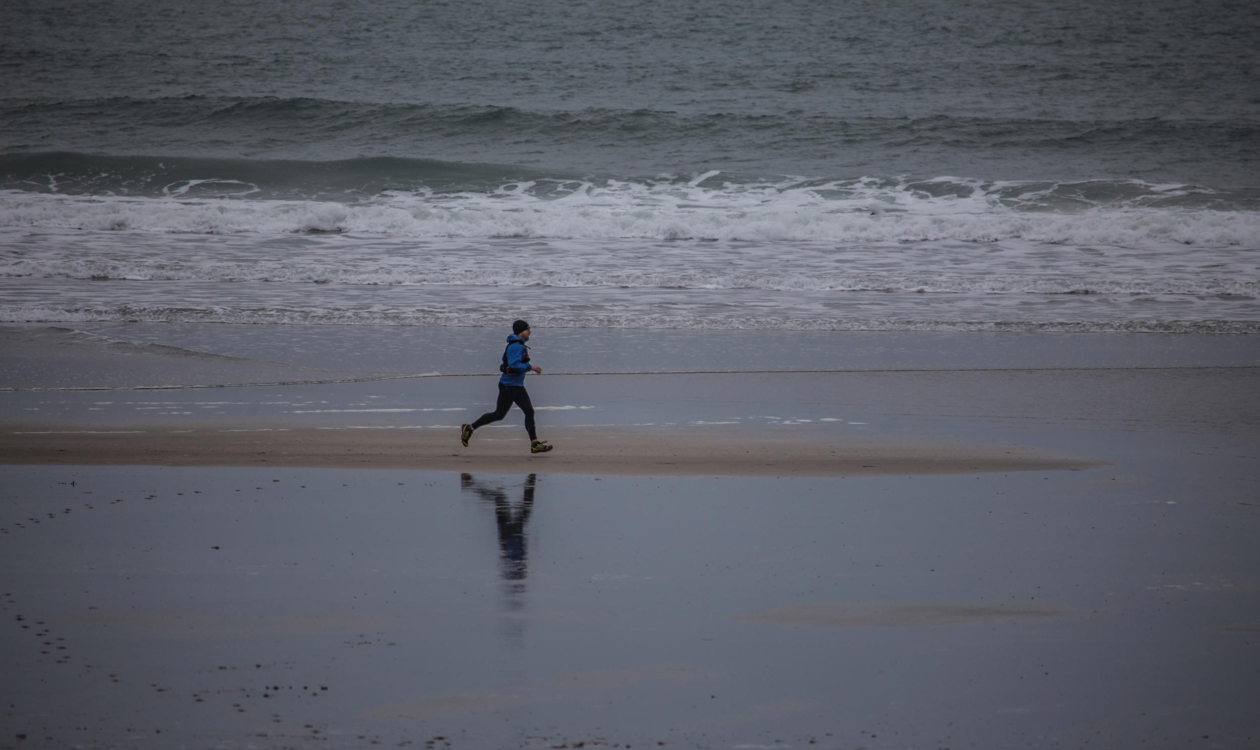 Great British MINI Adventure Day 10 - Trail Running the Pembrokeshire Coast, Whitesands Bay