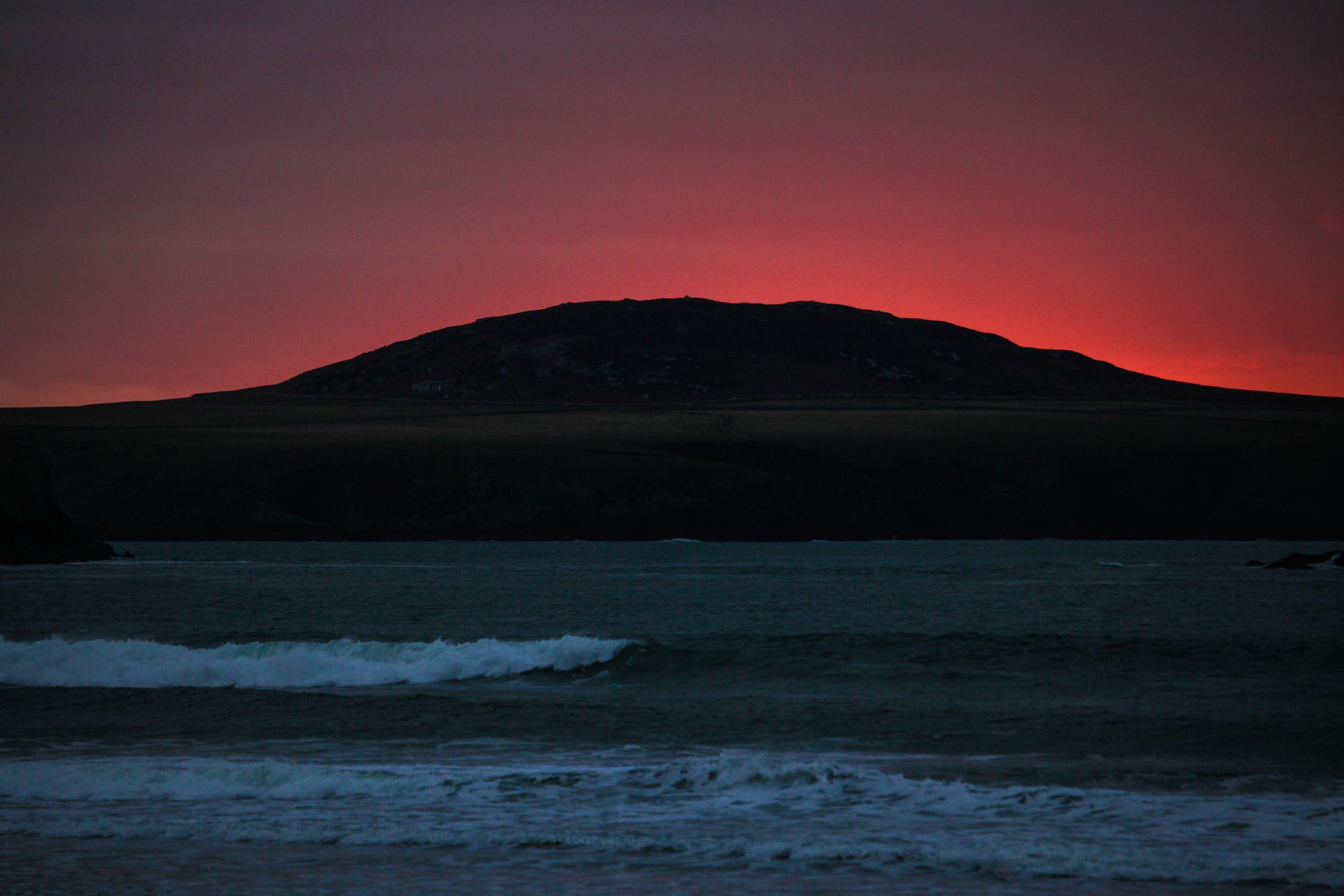 Great British MINI Adventure Day 10 - Sunset on the Pembrokeshire Coast