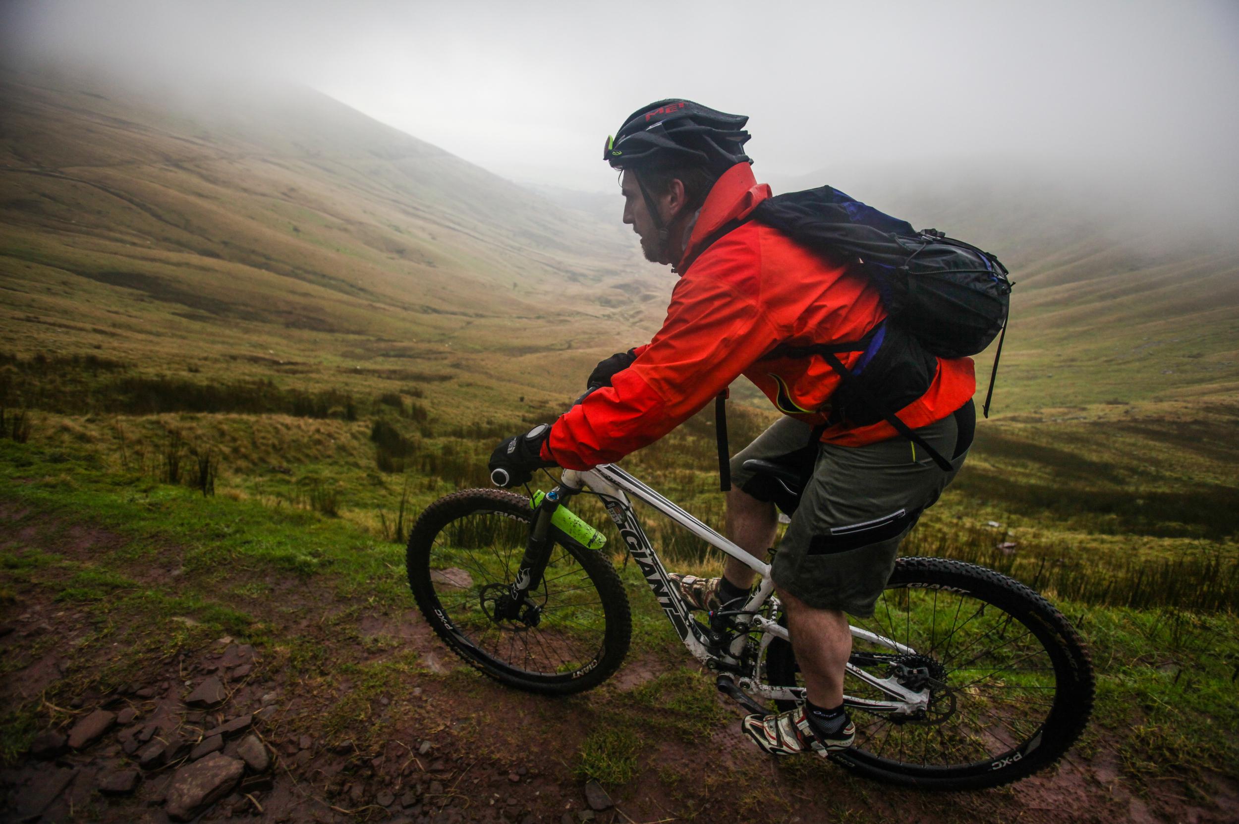 Great British MINI Adventure Day 11 - MTN Biking The Gap in the Brecon Beacons