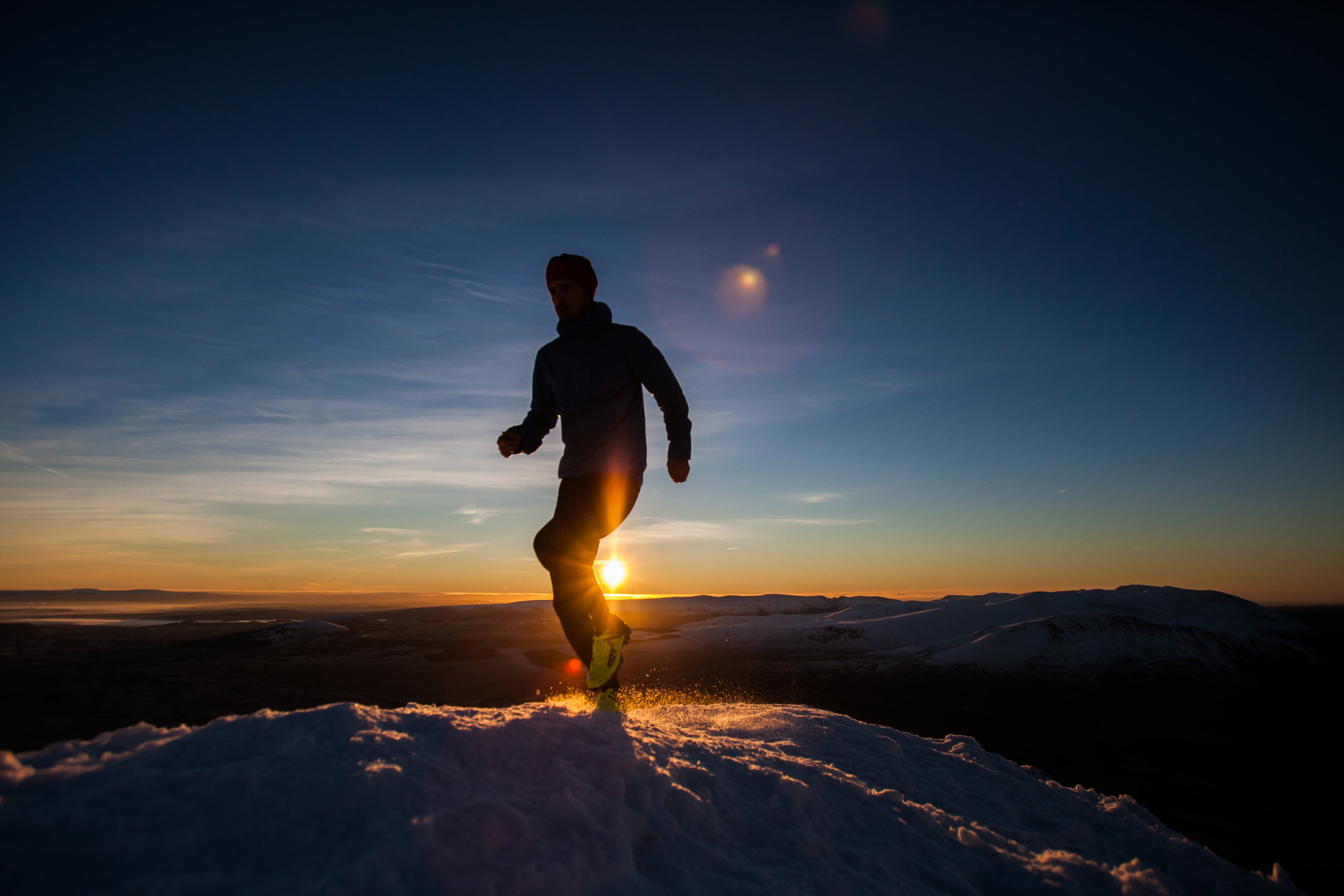 Inov-8 Photo Shoot Sunrise Lake District