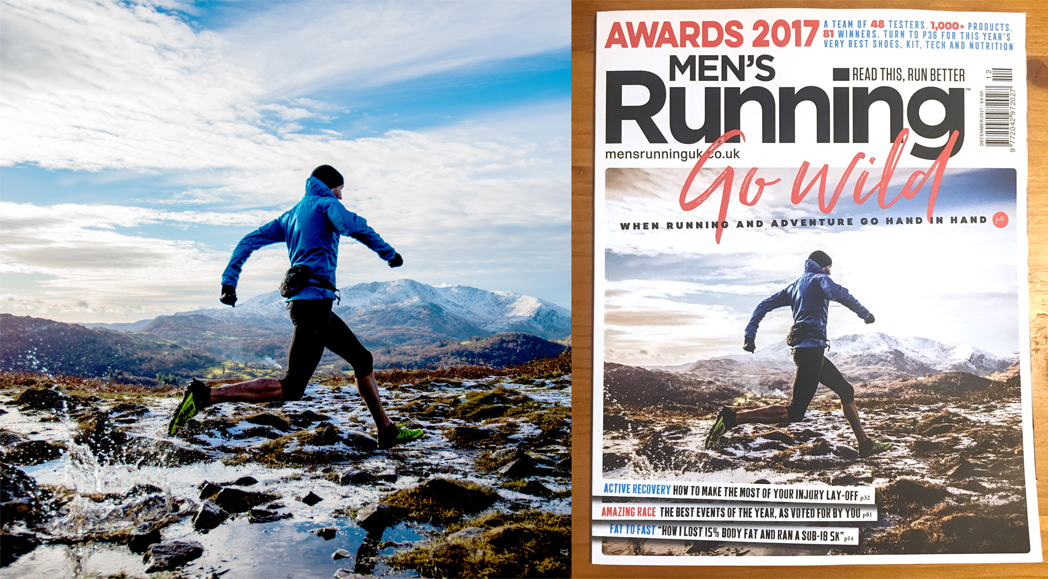 Men's Running December 2017 Front Cover