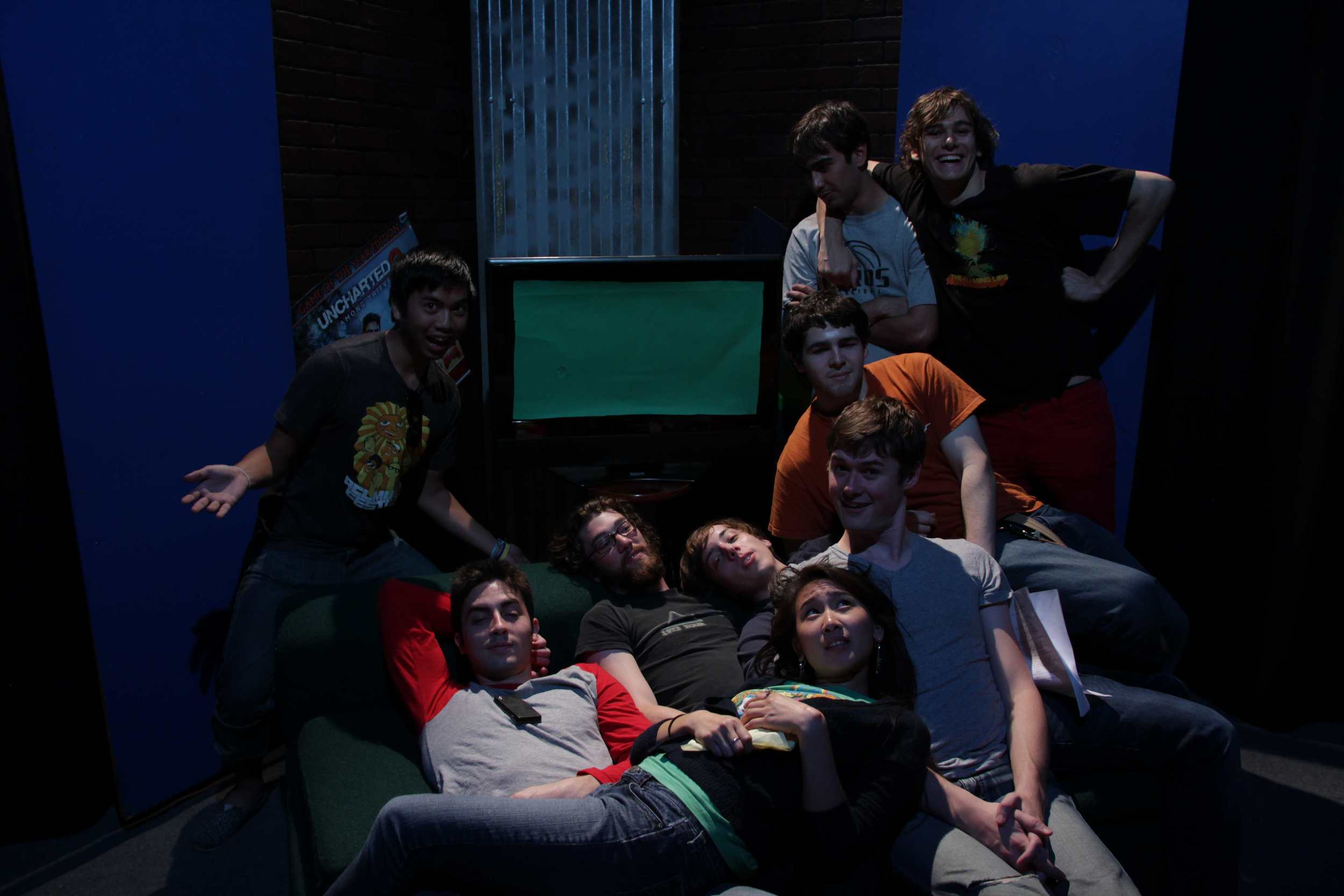 Some of the cast and crew of Combo Breakers