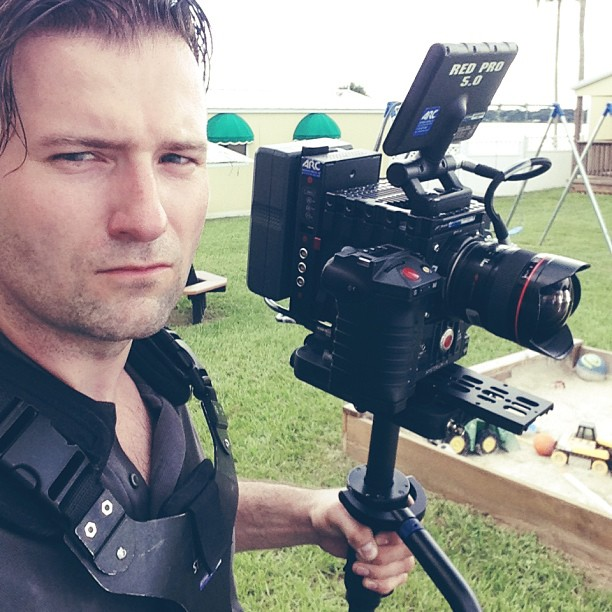 Doug and the mighty Steadicam