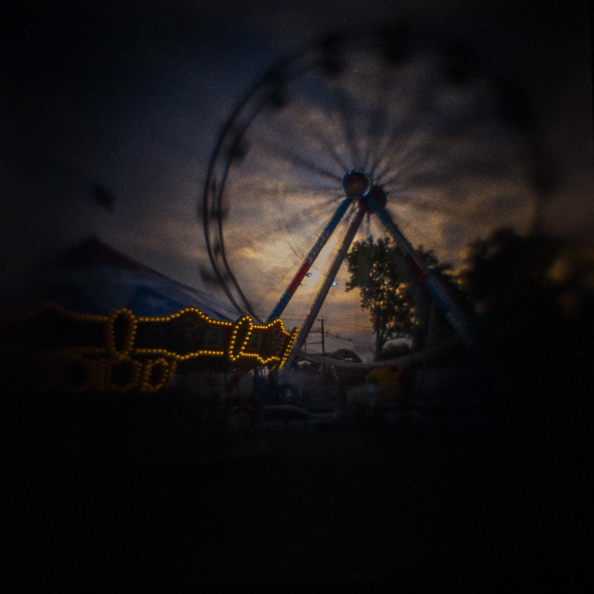 Leonia Carnival 2016, Ferris Wheel Sunset