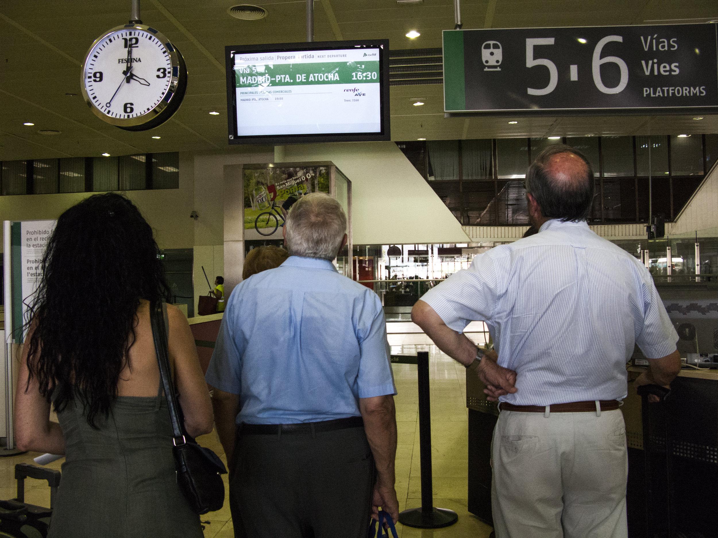 Train Waiting