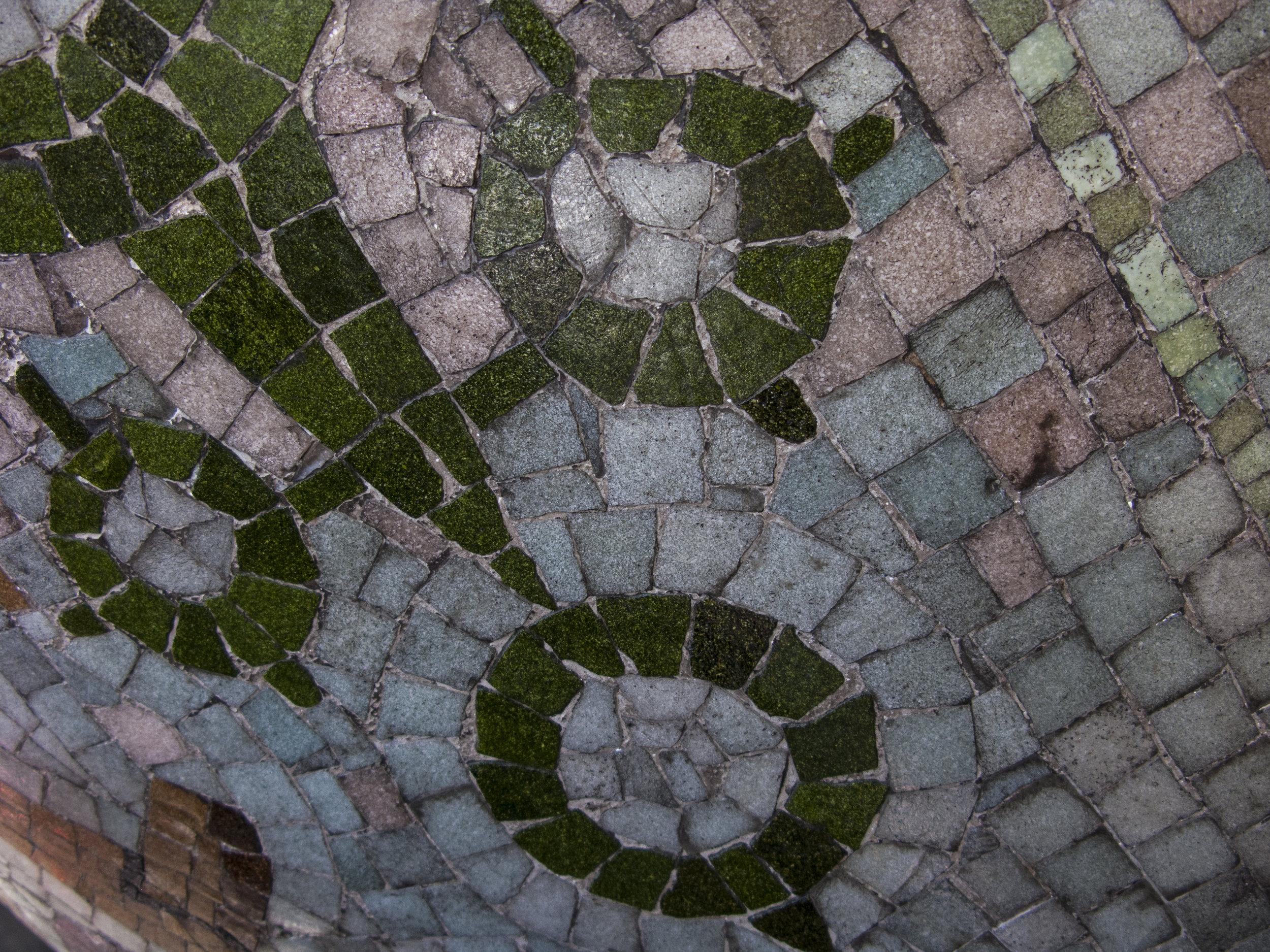 Barca Mosaic