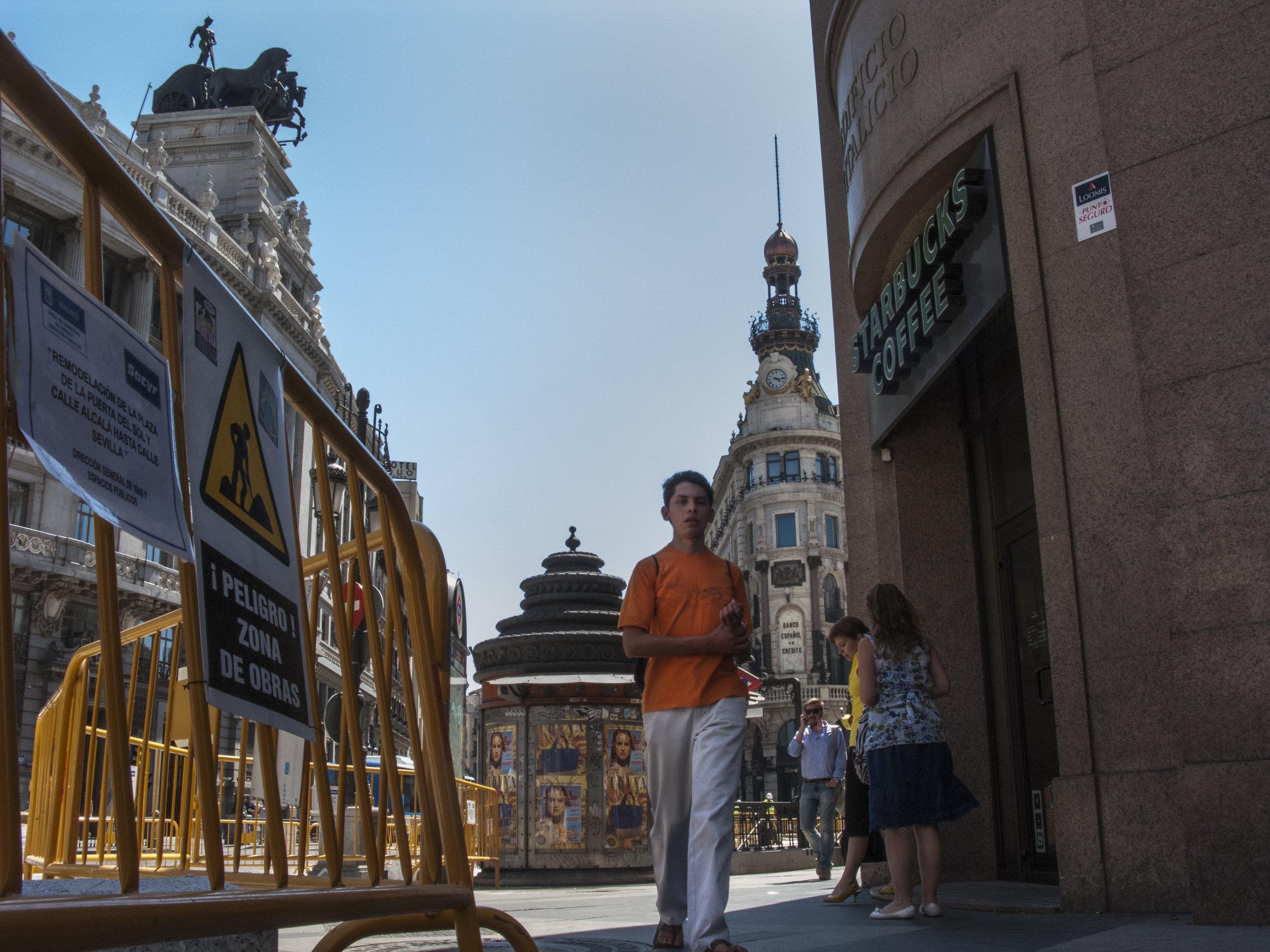 Metro Seville Station